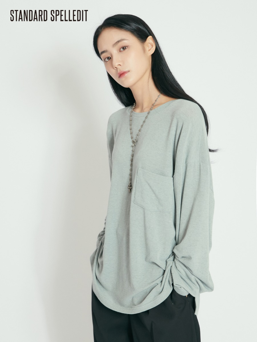 Soft Pocket L/S Tee